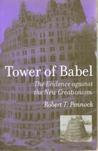 Book cover for Tower of Babel by Robert T. Pennock